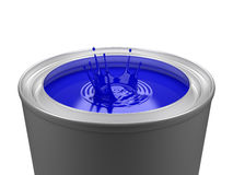 Isolated Paint bucket Royalty Free Stock Photos