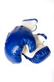 Isolated pair of boxing gloves Stock Images