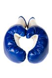 Isolated pair of boxing gloves Royalty Free Stock Photography