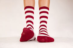 Isolated pair of socks Stock Image