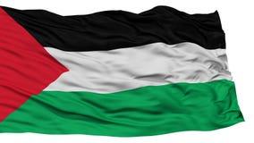 Isolated Palestine Flag Stock Photo