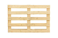 Isolated pallet Royalty Free Stock Images