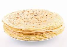 Isolated pancake pile stock photos