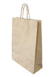 Isolated paper bag Stock Images