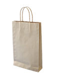 Isolated paper bag Stock Photo