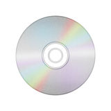 Isolated paper cut of disc cd, dvd, blue-ray disk is record data Royalty Free Stock Photos