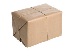 Isolated parcel Stock Images