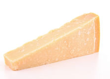 Isolated parmesan Royalty Free Stock Photography