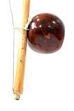 Isolated part of berimbau Royalty Free Stock Image