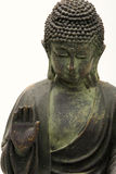 Isolated part of budha statue Royalty Free Stock Images
