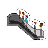 Isolated passengers design Stock Image