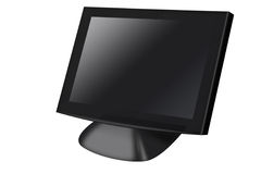 Isolated PC monitor Royalty Free Stock Photos
