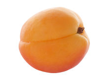 Isolated peach Stock Photos