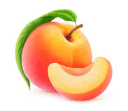 Isolated Peach Or Apricot