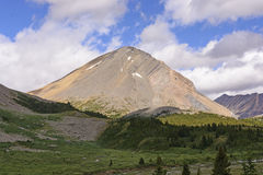 Isolated Peak in the Mountains Royalty Free Stock Photography