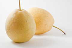 Isolated Pears Stock Photo