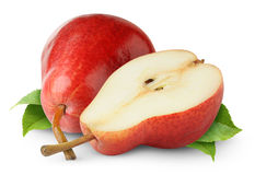 Isolated Pears Royalty Free Stock Photography