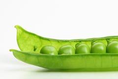Isolated peas Stock Photos