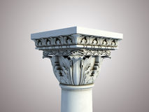 Isolated Pedestal Stock Photography