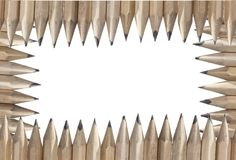 Isolated pencil Royalty Free Stock Image
