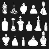 Isolated perfume bottles Stock Image