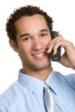 Isolated Phone Man Stock Images