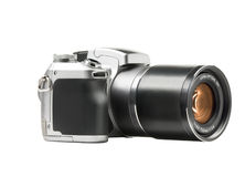 Isolated photo camera Royalty Free Stock Photo