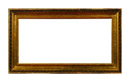 Isolated Photo Frame, Wooden Antique Photo Frame royalty free stock photos