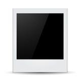 Isolated Photo Frames on White Background Stock Photography