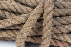 Isolated photo of twisted twine Stock Photos