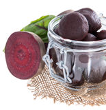 Isolated pickled Beetrot Stock Photography