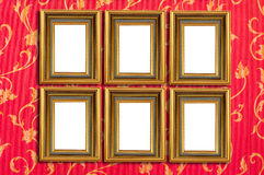 Isolated picture frames Royalty Free Stock Photos