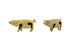 Isolated pig toy Stock Photo
