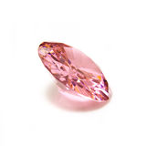 Isolated pink diamond Royalty Free Stock Images