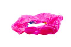 Pink inflatable round Stock Photos