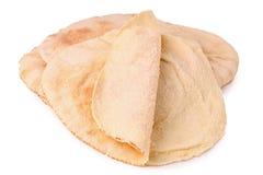 Isolated pita bread Stock Photography