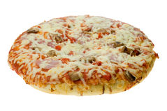 Isolated pizza Royalty Free Stock Photos