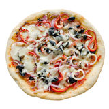 Isolated pizza Royalty Free Stock Image