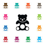 Isolated Plush Icon. Cuddly Vector Element Can Be Used For Plush, Cuddly, Stuffed Design Concept. Stock Photos