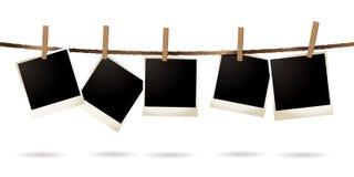 Isolated polaroid Stock Photo
