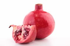 Isolated pomegranate Royalty Free Stock Photography