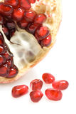 Isolated pomegranate Stock Photo