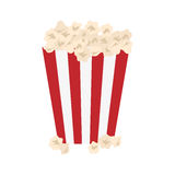 Isolated popcorn snack. Icon  illustration graphic design Royalty Free Stock Images