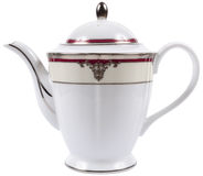 Isolated porcelain teapot Stock Photos