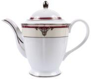 Isolated porcelain teapot Stock Photos