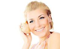Free Isolated Portrait Of A Beautiful Female Royalty Free Stock Photo - 15374135