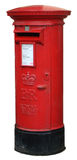 Isolated Post Box Royalty Free Stock Photography