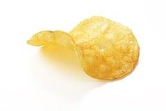 Isolated potato chip Royalty Free Stock Photo