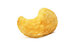 Isolated potato chip Stock Photo
