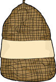 Isolated Potato Sack Royalty Free Stock Image